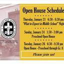 Open House at Saint Paul School!