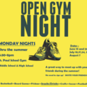 Youth Ministry Open Gym