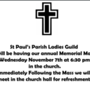 Ladies' Guild Memorial Mass and Reception