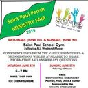 Ministry Fair June 8th & 9th!