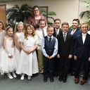 First Communion Photos!