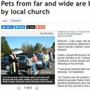 New Britain Herald covers our Blessing of Animals