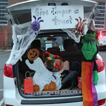 Trunk O' Treat THIS SATURDAY!