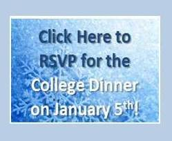 RSVP for the COLLEGE DINNER!