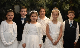 First Communion Photos from St. Paul on May 7th