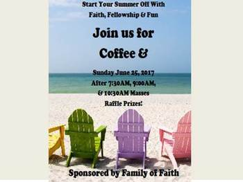 Coffee And on June 25th