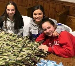 High School Youth Ministry holds Baby Shower