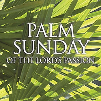 Bulletin for Palm Sunday, March 25, 2018