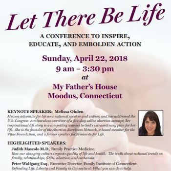 Pro-Life Conference at My Father's House