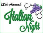 Italian Night Tickets - online sales have now closed.