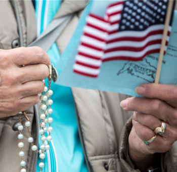 Rosary Rally on the Parish Green - October 10th