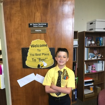 Principal for the Day!