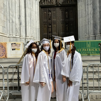 Graduation at St. Patrick's Cathedral - July 30, 2020