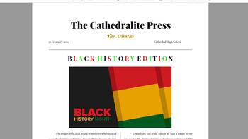 Cathedral Press - February Issue