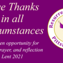 Give Thanks in All Circumstances