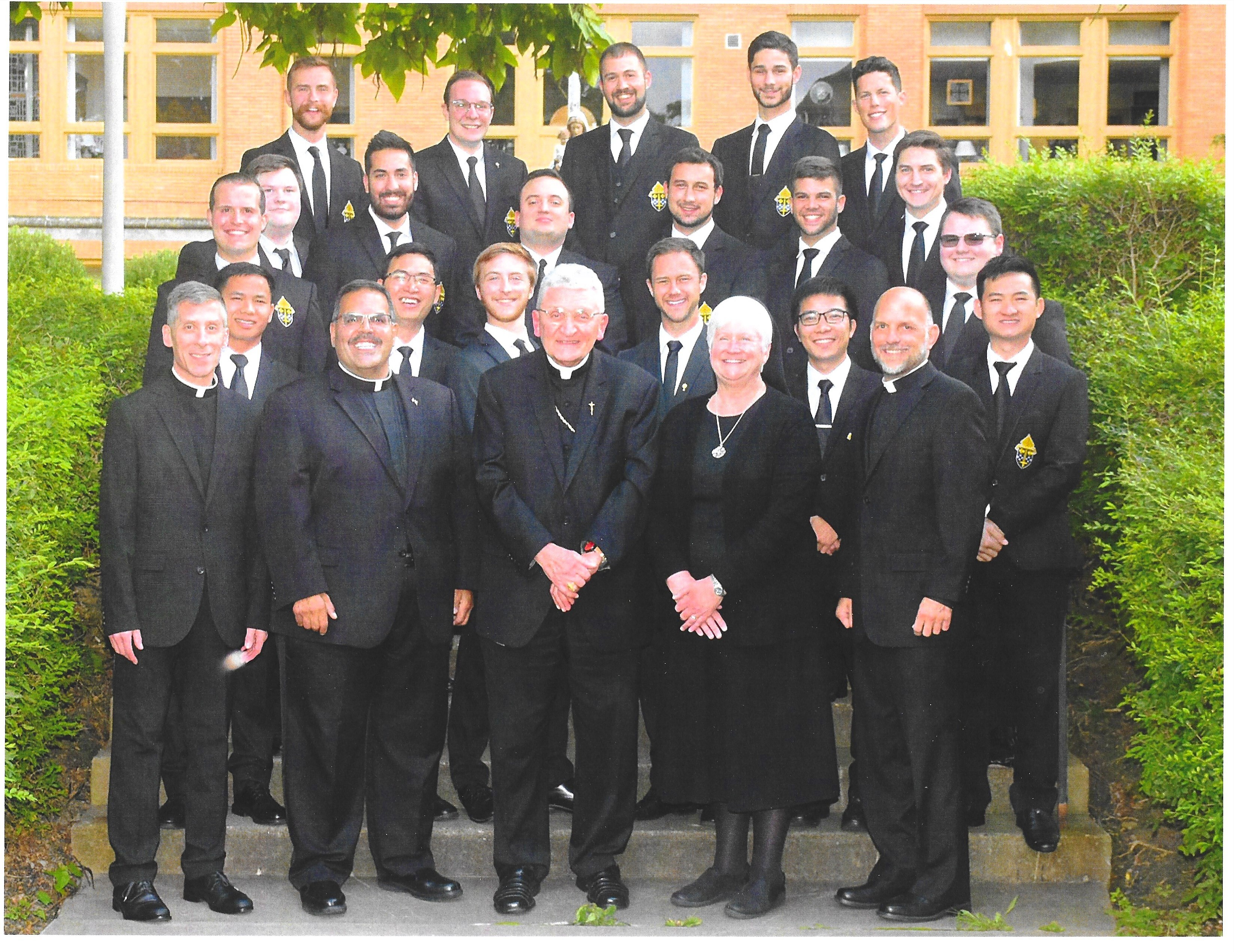Please pray for these men who are at the beginning of their discernment journey.