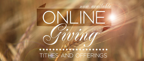 Online Giving Available Now!