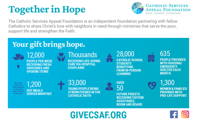 Give to the CSAF