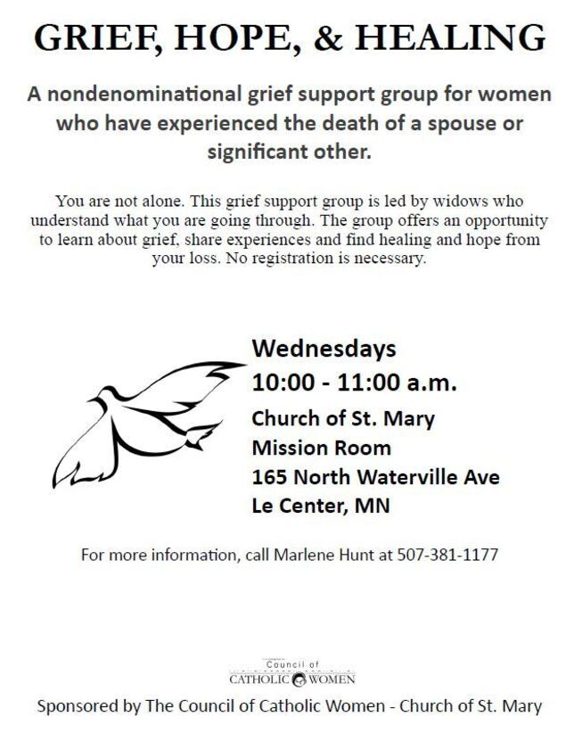 Grief Support Group Le Center