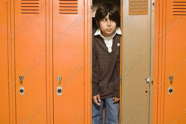 Help! I'm Stuck in a Locker!! Lock In