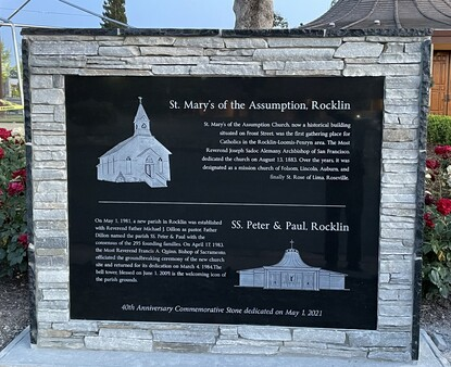Celebrating 40 years with an historical marker