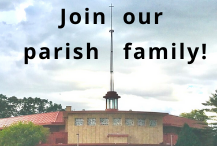 Click here to register as a parishioner