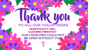 Thank you volunteers !