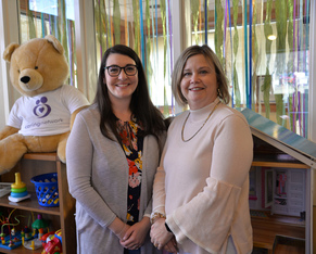 Mother Friend Mentors support teen moms during pregnancy and beyond