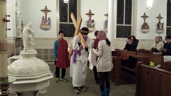 Youth Group Led Stations of the Cross