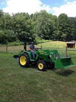 The John Deere has arrived!