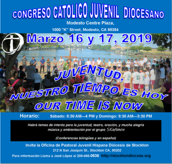 Congreso de Jóvenes / Youth & Young Adults Congress