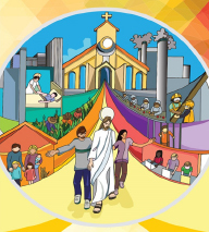 """2019 Catechetical Sunday """"Stay with Us"""" """"Quedate con Nosotros"""""""