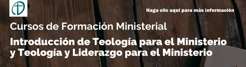 Click here for Information on Ministry Formation Courses in Spanish