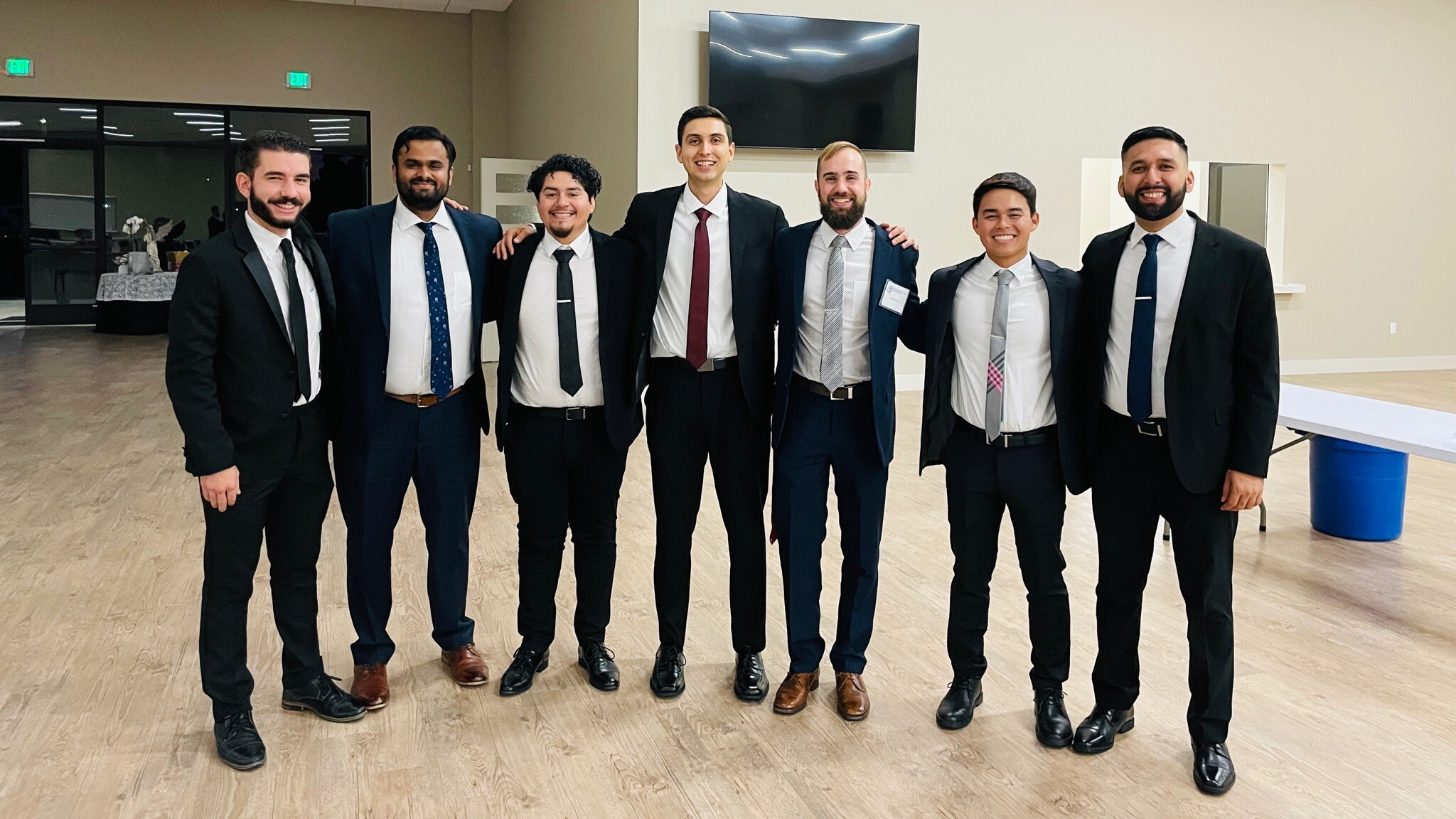 September 2021 - We now have SEVEN seminarians who are studying at St. Patrick's Seminary in Menlo Park.
