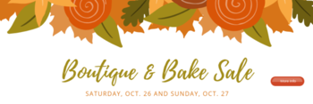 Boutique & Bake Sale