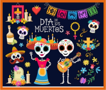 Saturday, November 2, All Souls Day, Día de los Muertos Celebration