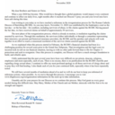 Letter from Bishop Gainer