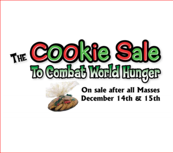 Cookie Sale to Combat World Hunger