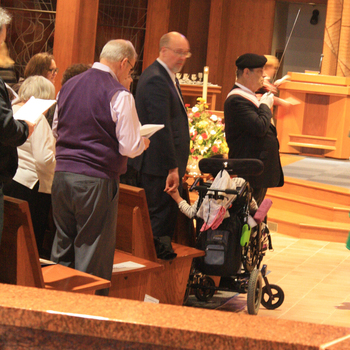 ANNUAL MASS CELEBRATING THE GIFTS OF PEOPLE WITH DISABILITIES