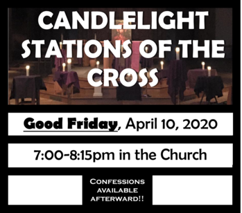 Candlelight Stations of the Cross