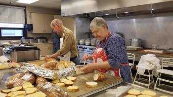Spaghetti Dinner Serves Over 200 People