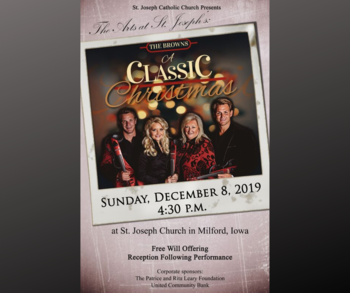 The Browns Classic Christmas Concert December 8