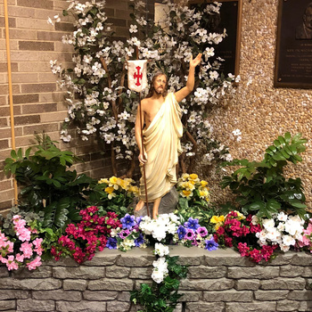 Mass and May Crowning-Live-streamed Friday, May 8 at 1:00PM