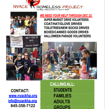 Nyack Homeless Project