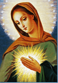The Flame of Love of the Immaculate Heart of Mary