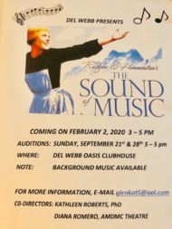 "Auditions for ""The Sound of Music"""