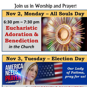 Election Prayers for Our Country