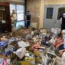 Holy Rosary Collects Non-Perishables for Patrician Society in Norristown