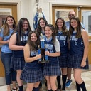 Holy Rosary's Varsity Girls softball team captures first place!