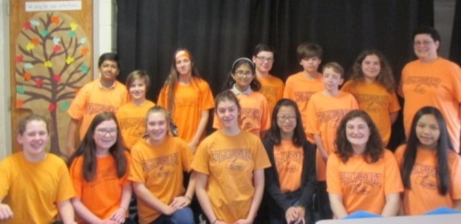 Reading Olympics team picture